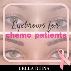 Eyebrows for Chemo Patients is our Bella PINK Alert topic as October is Breast Cancer Awareness Month. For many women losing their hair can be more emotional than the cancer itself. The absence of eyebrows…