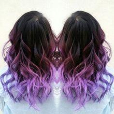 Омбре на русые волосы - для средних и длинных локонов, 110 фото