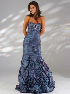 (HUNG0254676)2013 Style A-line Sweetheart Paillette Sleeveless Floor-length Taffeta Prom Dresses / Evening Dresses