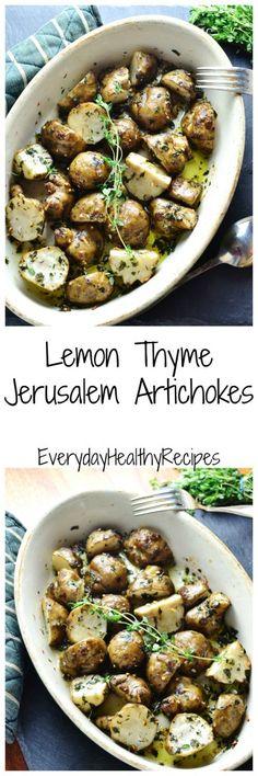 Lemon Thyme Jerusalem Artichokes