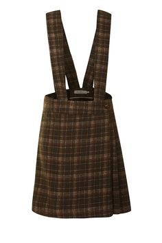 Brace Yourself Skirt (Brown Tartan) (9)
