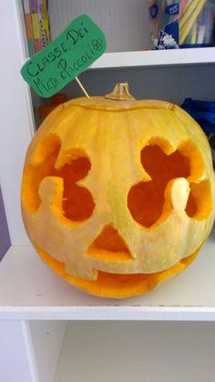 la zucca di halloween!!!
