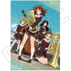 【Sound! Euphonium】 Clear Poster - 0715A
