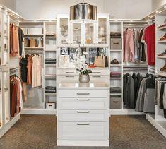 Inspired Closets | Custom Closets and Home Organization Custom Closet Design, Walk In Closet Design, Bedroom Closet Design, Custom Closets, Closet Designs, Custom Design, Bedroom Decor, Vermont, Glam Closet