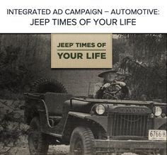 Throughout history, there are two things that make Jeep special - the vehicles themselves, and the people who drive them. For 70 years Jeep has been a brand that isn't just about a vehicle, but about a lifestyle. It is a lifestyle that embraces adventure at its core. What better way to pay tribute 70 fantastic years than to celebrate our people…Jeep people.