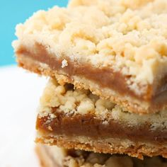 Salted Caramel Butter Bars - not one healthy ingredient.  But sounds oh so yummy!