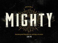Mighty by Josh Warren