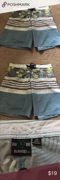 Brand new men swimming short  size 34 Brand new men swimming short  size 34 burnside Swim Board Shorts