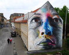 Bei unseren dänischen Nachbarn in Aalborg geht in Sachen Street Art derzeit eine ganze Menge.