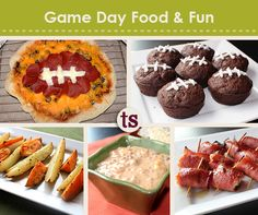 Spend some time creating food, fun and memories with your family for your next game day! Check out the delicious and kid-friendly recipes and free craft project ideas.