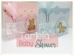 YouTube Baby Shawer, Scrapbook Albums, Scrapbooking, Card Making Tutorials, Baby Cards, Craft, Cardmaking, Shower, Diy