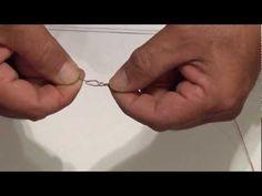 "Alberto's Knot by ""Crazy"" Alberto Knie  (tie braided mainline to fluorocarbon leader)"