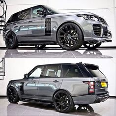 $tuningcars - Tuning Car Pictures 🔥Hot or Not❄️ Range Rover Vogue | pic @urbanautomotive #carswithoutlimits #ran… #neoncar