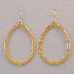 Holly Yashi Halo Earrings - Gold