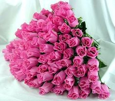 Beautiful miniature pink rose bouquet.