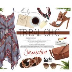 Tribal Chic by m-zineta on Polyvore featuring moda, Liliana, Ray-Ban and Isaac Mizrahi