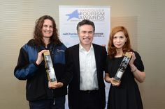 FASTSIGNS Vancouver is a longtime sponsor and supporter of the Vancouver Tourism Awards.     Here's FASTSIGNS owner Paul LeBlanc with July winner Sheila Brodland of Coast Mountain Bus Company and August winner Eri Fujii of Holiday Inn & Suites Vancouver Downtown. Vancouver Tourism, Fast Signs, This Is Us, Awards, Coast, Mountain, Holiday, Vacations, Holidays