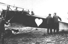 Rosenstein was an ace in WW1 flying D.VIIs