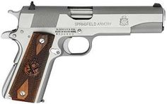 Springfield Armory 1911 Mil-Spec 45 ACP Cocobolo Wood Grip SS - SGI Guns - America's largest online firearms and accessories mall. Springfield Armory 1911, 1911 Pistol, Colt 1911, 45 Acp, Fire Powers, Home Defense, Leather Holster, Thing 1, Hunting Gear