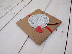 Invitación de boda hecha a mano, handmade, DIY, SelfPackaging, Self Packaging, selfpacking