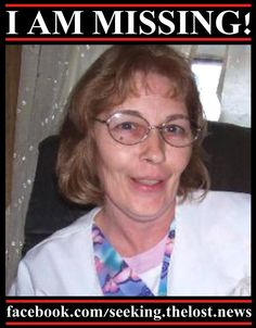 2/6/2013: MISSING WOMAN: Carol Thompson (50) was last seen on 6/15/2012 at 2:00am at a home in... pinned with Pinvolve