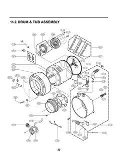 lg wm0642hw parts diagram