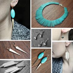 Tribal Turquoise    http://www.mooreaseal.etsy.com