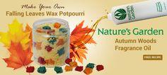 Fresh Fallen Leaves Wax Potpourri Recipe