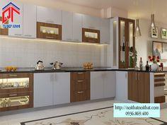 Thiết kế tủ bếp Acrylic nổi bật nhất hiện nay