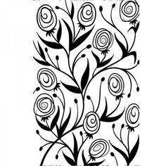 Darice Embossing Folder Ranunculus - Google Search