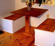 corner dining nook | Corner Dining Room Furniture With Wooden Breakfast Nook Table Dining ...