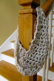 6 x 60 Use S hook, crochet loosely, Worsted wt yarn