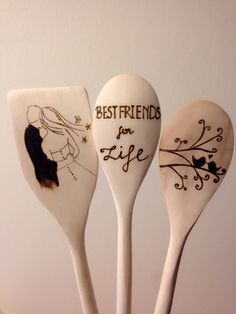 Wood Burning Love wood burned spoons wooden spoons by HouseOfWoodBoutique Wood Burning Tool, Wood Burning Crafts, Wood Burning Patterns, Wooden Spoon Crafts, Wood Spoon, Wood Crafts, Photo On Wood, Picture On Wood, Diy Cutting Board