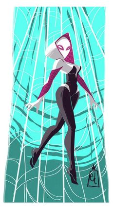 Spider Gwen by Edwardian Taylor for Sketch Dailies