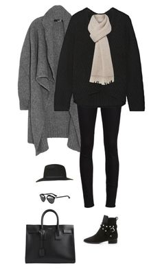 """Unbenannt #5559"" by juliaaacherie ❤ liked on Polyvore featuring Love Moschino, Yves Saint Laurent, Acne Studios, See by Chloé, MaxMara, Topshop and Christian Dior"