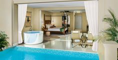 All Inclusive Vacations Promotions & Special Savings — Sandals All-Inclusive Caribbean Resorts NEW!!! Barbados 2014 Crystal Lagoon Swim up Suites