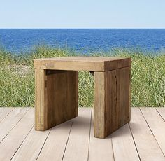 Larkspur Side Table on Sale for $625. I think I'll go to Home Depot and build int for $6.25