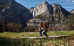 Skateboarding in Yosemite / Jeff Johnson photo via Patagonia