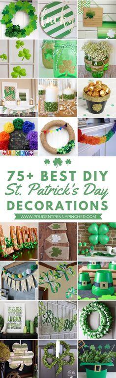 75 Best St. Patrick's Day Decor Ideas #StPatricksDay