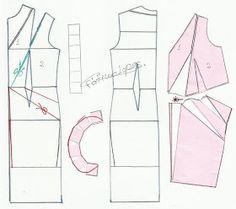 Moldes Moda por Medida: TRANSFORMAÇÃO DE VESTIDOS _13