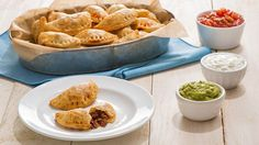 With all of the delicious flavors of tacos, these empanadas will be a big hit with every crowd. Serve as an appetizer, snack or even a light meal.