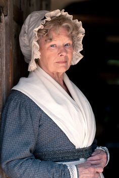 "Judi Dench as Miss Matty Jenkyns- ""Cranford"" and ""Return to Cranford"" (based on the books by Elizabeth Gaskell) British Period Dramas, Little Dorrit, Elizabeth Gaskell, Masterpiece Theater, Judi Dench, Christmas Carol, Christmas Tale, Period Costumes, Historical Romance"