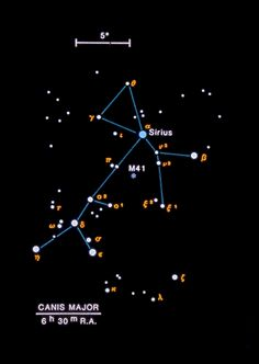 Canis Major - Brightest Star: Sirius