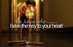The Boys Who... have the key to your heart