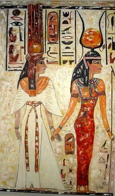 nefertiti and isis | NEFERTITI AND ISIS | Flickr - Photo Sharing!