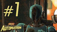 Fallout 4 Automatron DLC Gameplay ITA Walkthrough #1 - La Prima di Autom...