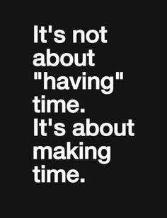 Yep.. true.. making time..