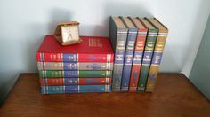 Vintage Collier's Junior Classics Complete Book Set // The Young Folks Shelf of Books // Set of 10 // 1960's // Home Library // by GratefulBlessingsVtg on Etsy