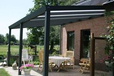 fasada  ALU Terrassendach mit VSG Glas 7,00 x 4,00 m Top Qualität! Terrassenüberdachung | eBay