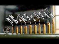¿Cómo se Mide el Calibre de un Arma de Fuego? (Pistolas, Rifles y Escopetas) - YouTube Rifles, 40 S&w, 380 Acp, 22lr, Firearms, Youtube, Shotguns, Drawer Pulls, Weapons